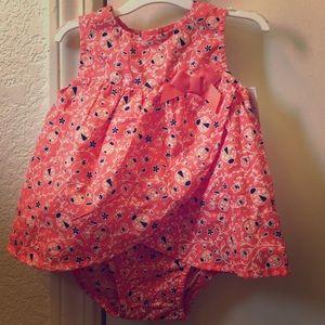 Carter's ladybug dress